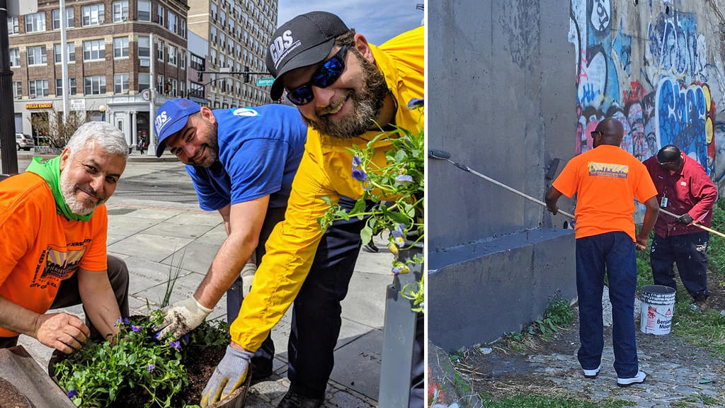 Thousands of Jersey City Volunteers Roll Up Their Sleeves for the 4th Annual Great Jersey City Cleanup