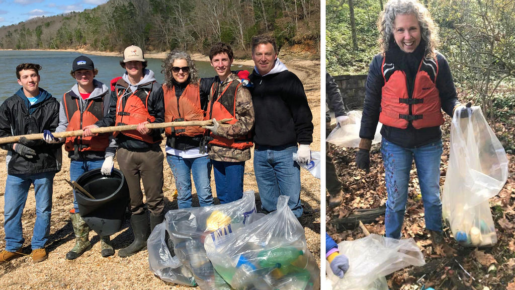 Keep the Tennessee River Beautiful's Grand Slam Cleanup Helps Restore the Tennessee River Waterfront