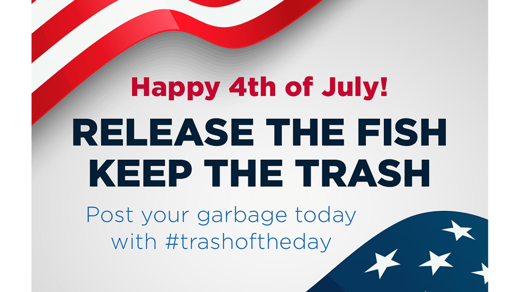 5 million anglers called on to collect data and trash from US waters this Fourth of July