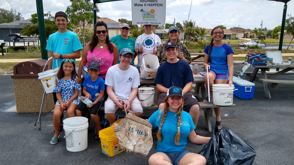 Keep America Beautiful Youth Advisory Council Member Leads World Oceans Day Cleanup