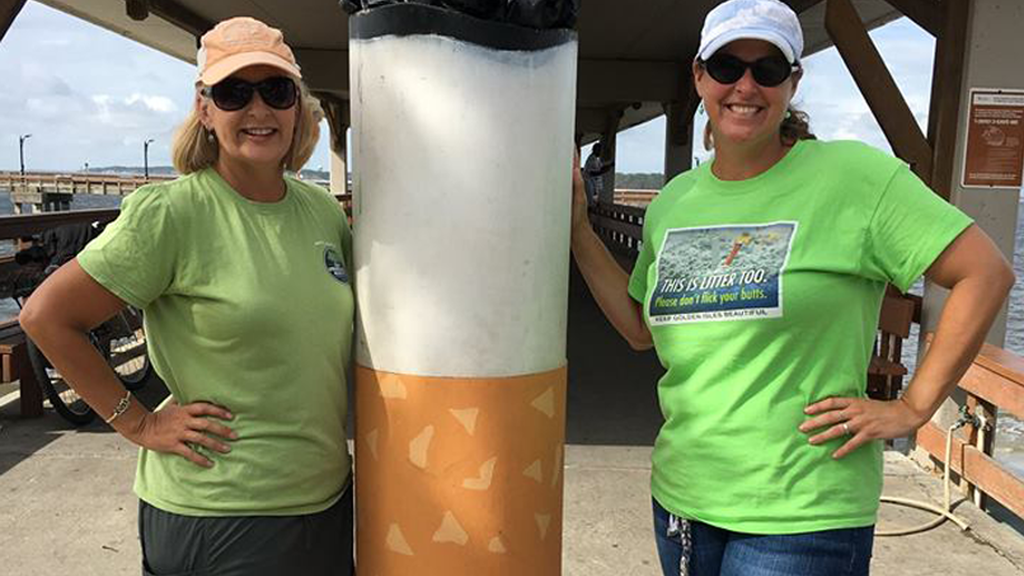 Keep Golden Isles Beautiful Continues Campaign to End Cigarette Butt Litter