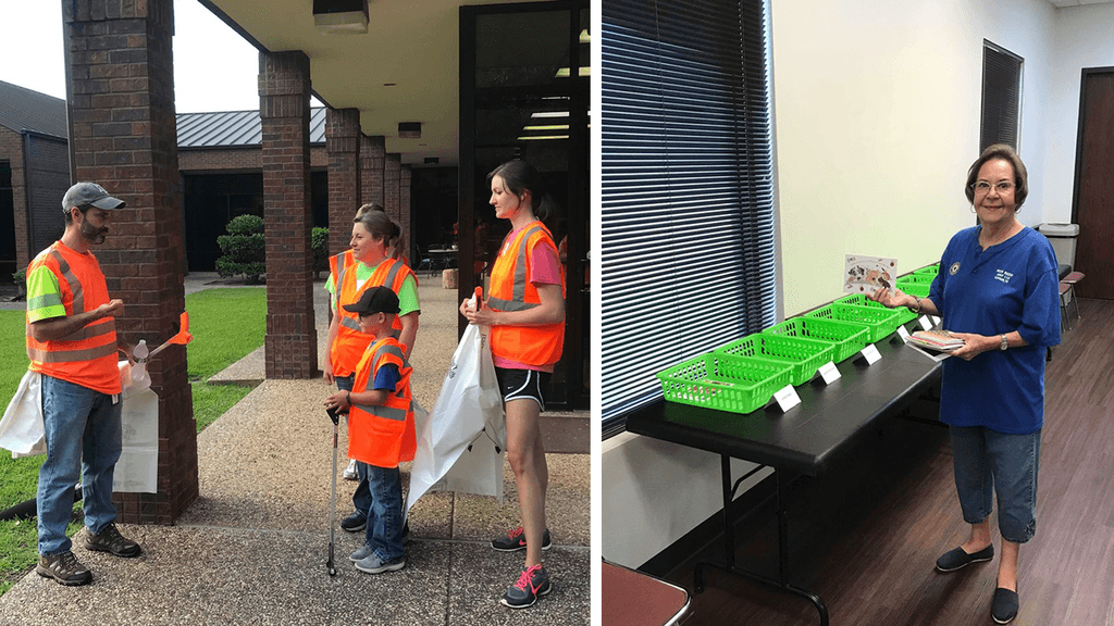 Angelina Beautiful/Clean Celebrates Christmas in July with Service Day