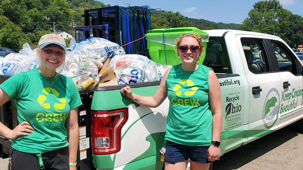 Keep Cincinnati Beautiful Diverts Waste from Landfill at Local Event