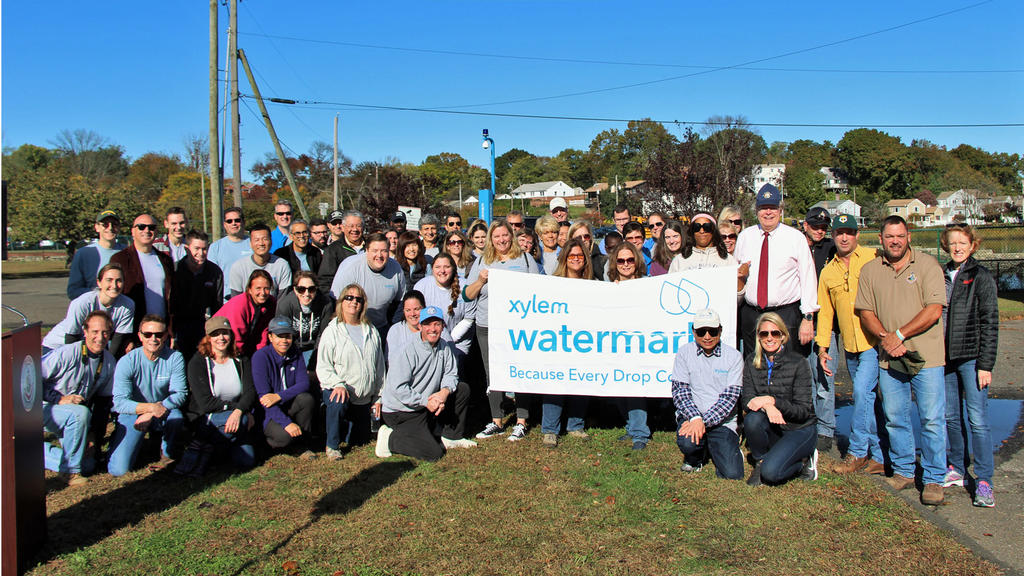Water Technology Firm Xylem Teams Up with Keep America Beautiful to Plant Trees in Stamford