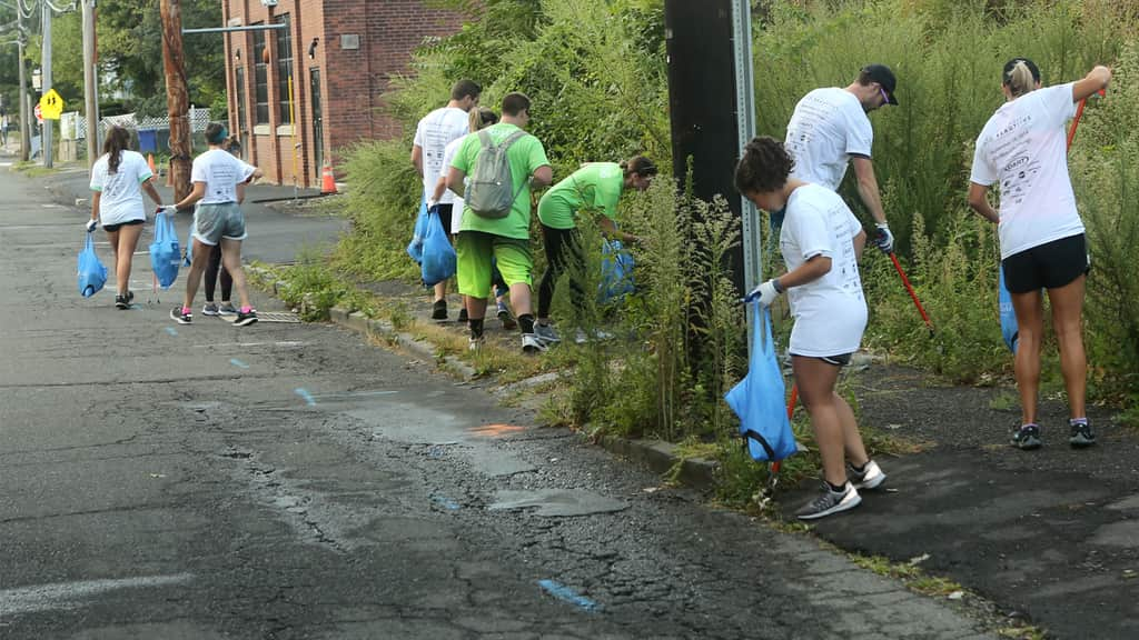 Keep America Beautiful Brings Plogging Phenomenon to Norwalk, Conn.