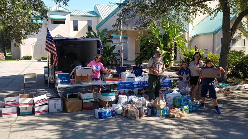 Keep Brevard Beautiful Lends Hand to Hurricane Victims