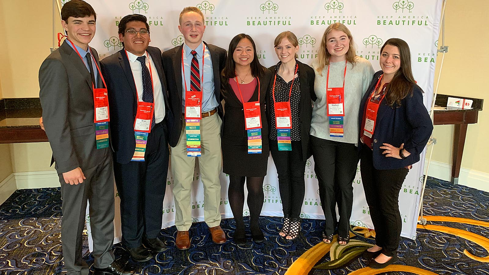 Keep America Beautiful Selects 2019/2020 National Youth Advisory Council