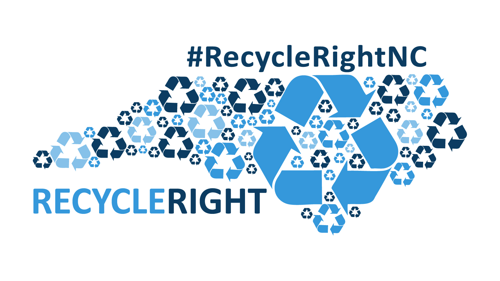 Recycle Right North Carolina logo