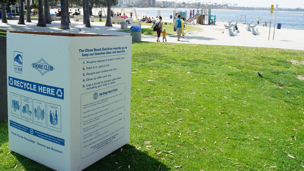San Diego's Clean Beach Coalition Diverts 174 Tons of Debris from Coastline