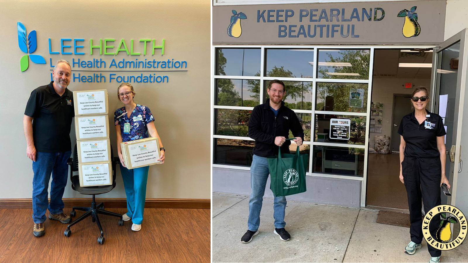 Keep America Beautiful Affiliates Donate Supplies to Local Health Care Workers