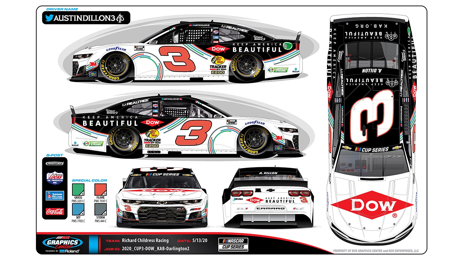 Daytona 500 Champion Austin Dillon Supports Keep America Beautiful