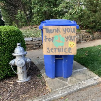 Kids Share Appreciation for Waste Haulers