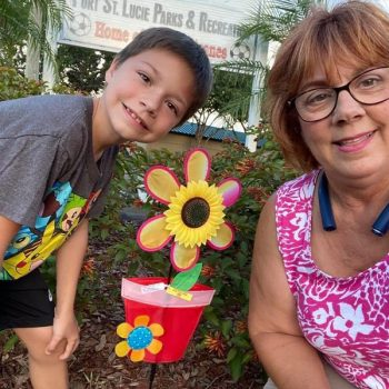 Keep Port St. Lucie Beautiful Spreads Sunshine with Sunflower Scavenger Hunt