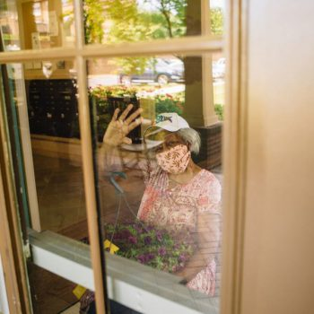 Lowe's Donates Flowers to Moms in Senior Housing Facilities