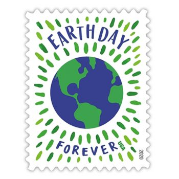 US Postal Service Unveils Earth Day Forever Stamps
