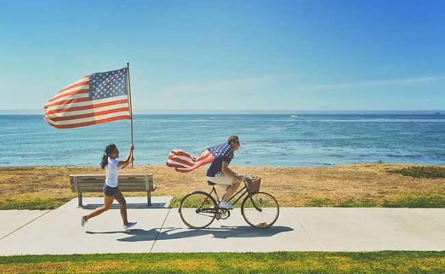 american-flags-beach-bench-bicycle-preview