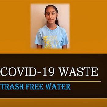 COVID-19 Waste: Trash-Free Water