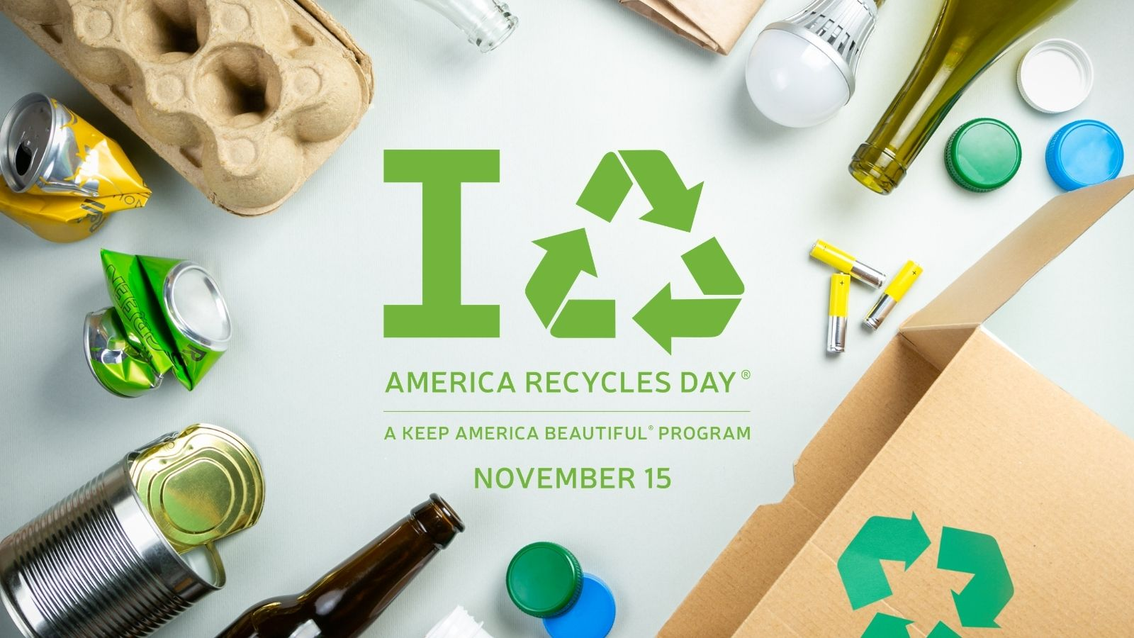 Keep America Beautiful Celebrates 2020 America Recycles Day: Focus on Individual Recycling Action and Behavior