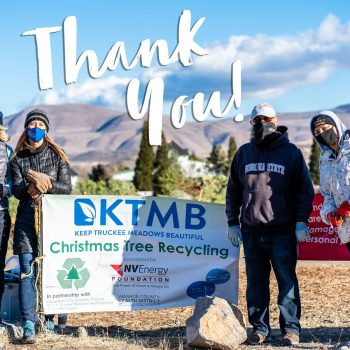 Keep Truckee Meadows Beautiful Recycles Thousands of Christmas Trees