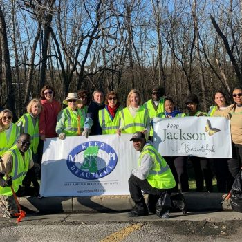 Keep Mississippi Beautiful Cleans Community After Record Floods
