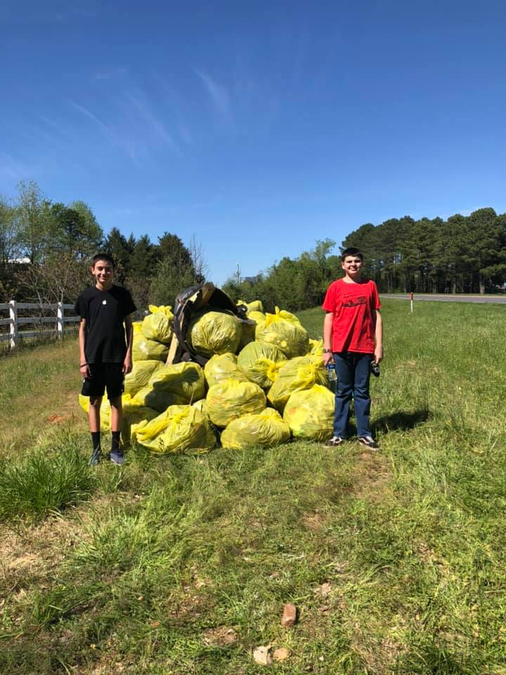 Volunteer Cleans Up York County, South Carolina